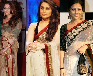 saree-trend-in-indian-stars-2013